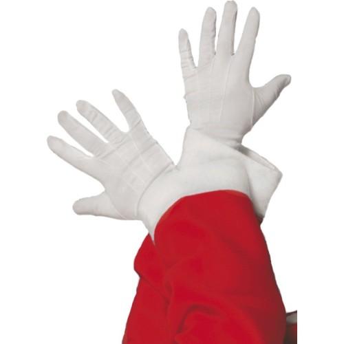 Rokavice bele
