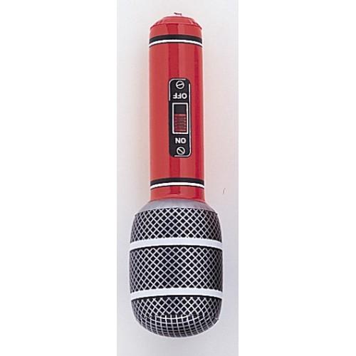 Napihljiv mini mikrofon-rdeč