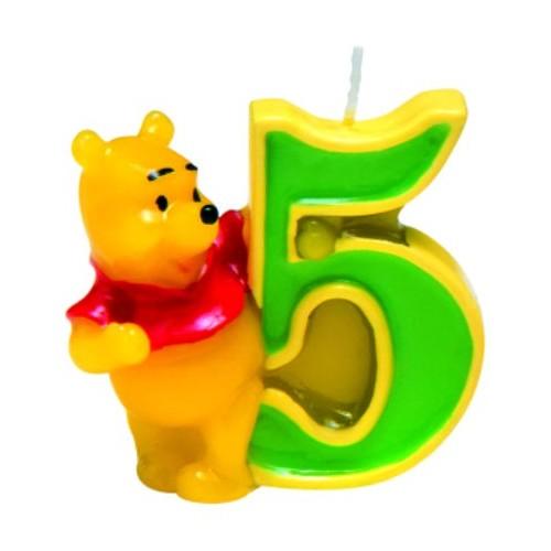 Winnie the Pooh Svečka 5