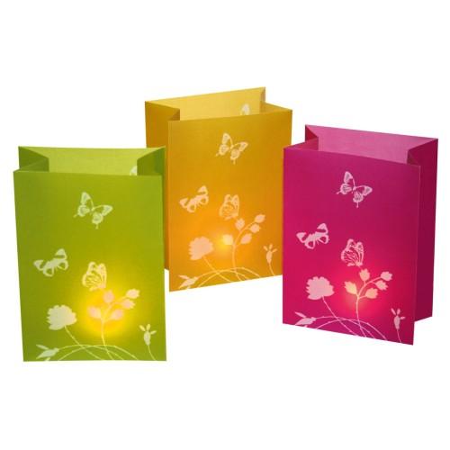 Vrečkice za svečko-metulj