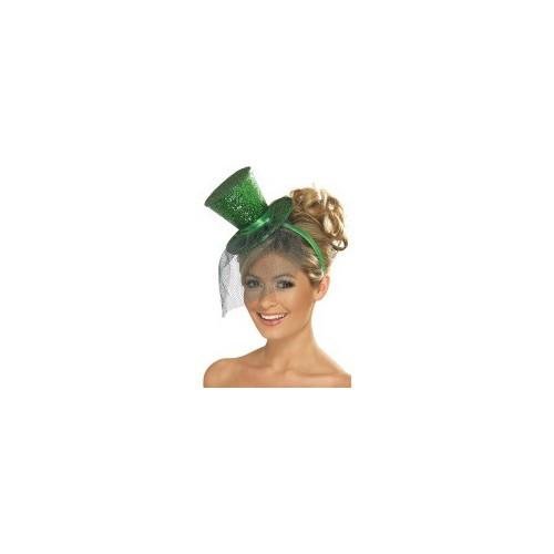 Mini zelen šešir
