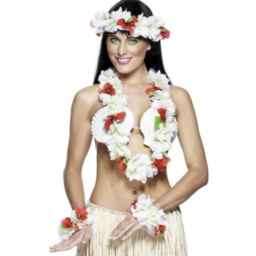 Hawai bijeli komplet