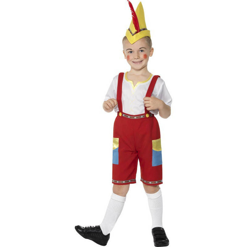 Child Pinocchio Costume