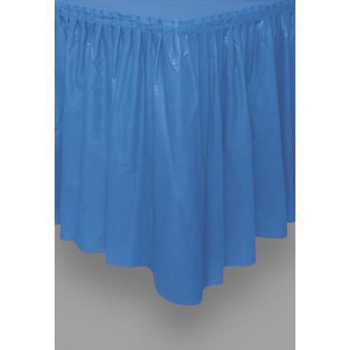 Mornarsko modr svečani dolgi prt