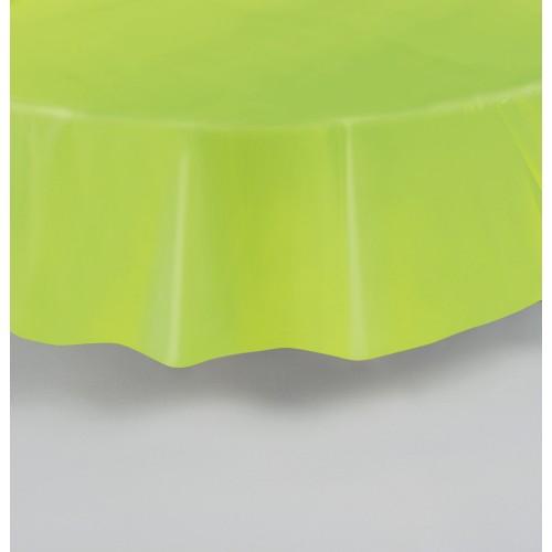 Zeleno moder okrogel prt
