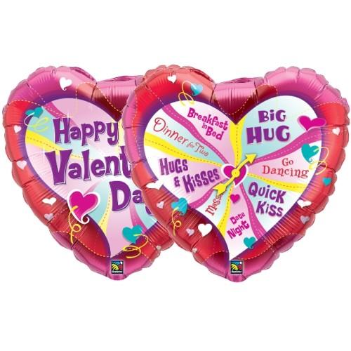 Valentine's Spinner - folija balon