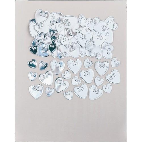Konfetki - Vijolični loving hearts