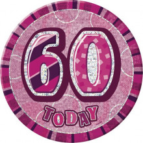 Bleščeča zabava -pink broška 50