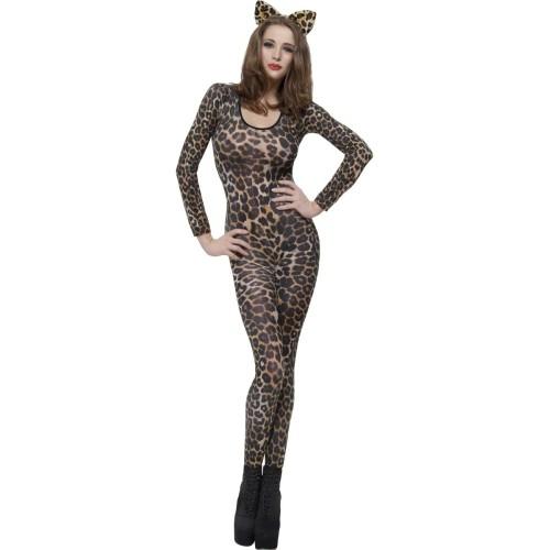 Pink leopard Bodysuit