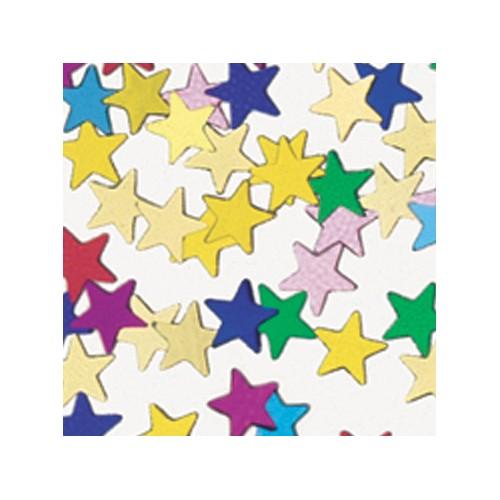 Konfetki - Assorted Stars Mini