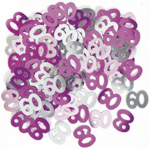 Konfetki - 60 pink