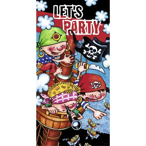 Let's party - gusarski plakat
