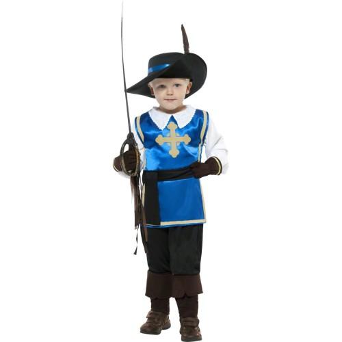 Mali mušketir kostim