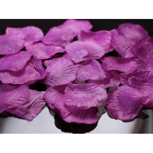 Lističi vrtnic- barva slive