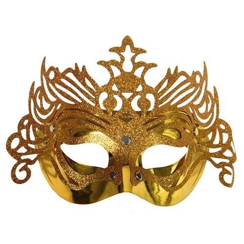 Zlata ornament maska