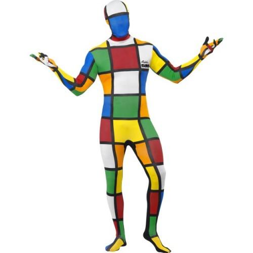 Druga koža kostum - Rubikova kocka