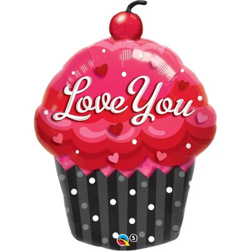 Love You Cupcake - folija balon