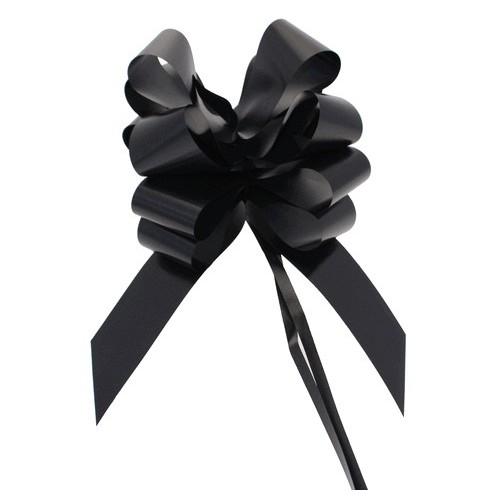 Črne mašne 5 cm