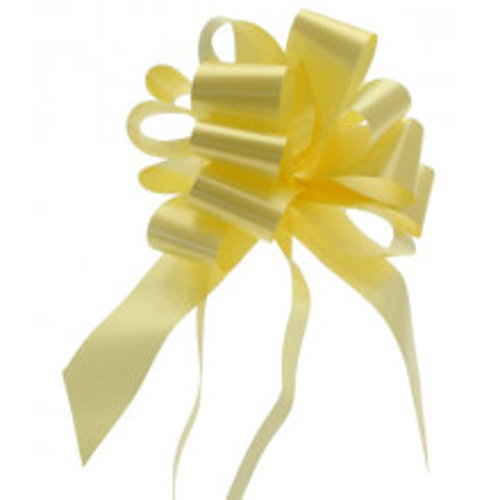 Svetlo rumene mašne 3 cm