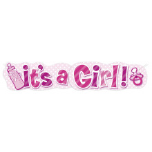 Banner - It's a Girl