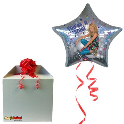 Hannah Montana Star balon - napihnjen