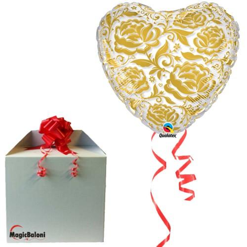 Crystal Roses & Flowers Gold - napihnjen