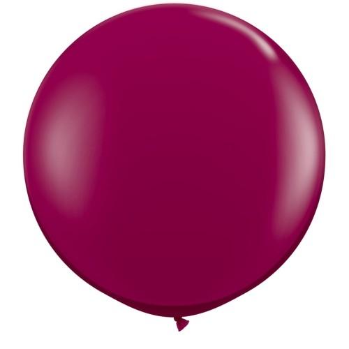 Balon sparkling burgundy 90 cm - 2 kom