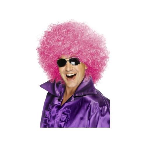 Afro Mega perika pink