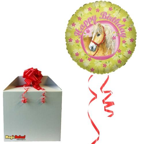 Konjièki - Balon folija - napihnjen