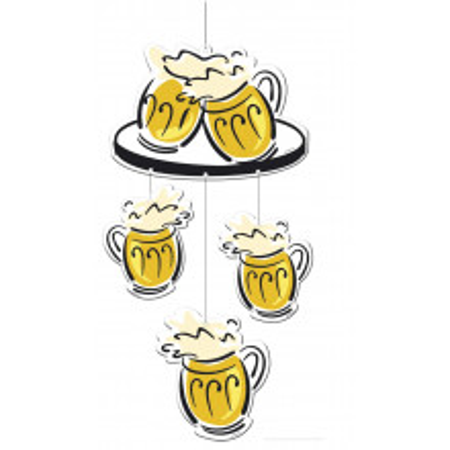 """Viseča dekoracija """"Beerparty"""""""