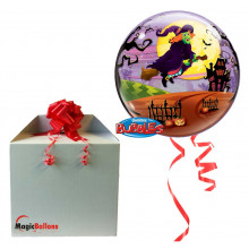 Flying witch's spooky brew - balon v paketu
