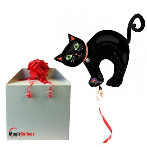 Halloween Cat folija balon u paketu