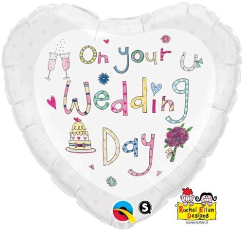 Rachel Ellen On your Wedding Day - folija balon