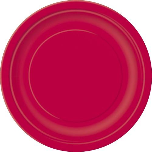 Tanjiri 18 cm - crvena 8 kom