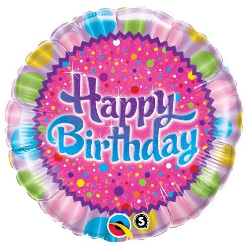 Birthday Sprinkles & Sparkles - folija balon