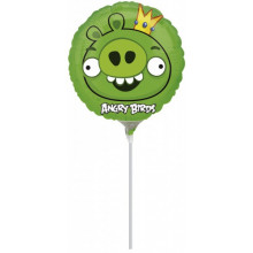 Angry Birds Pink - folija balon na štapiću