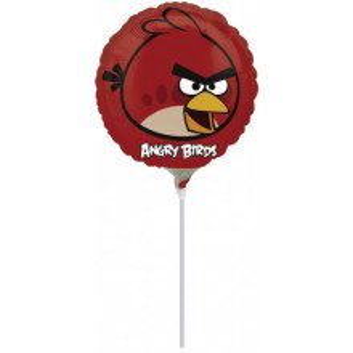 Yellow Bird - folija balon na štapiću