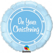 On Your Christening Boy folija balon