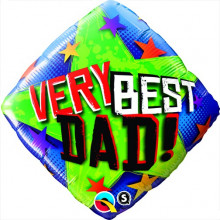 Very Best Dad Stars folija balon
