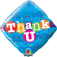 Thank You Colourful Dots folija balon