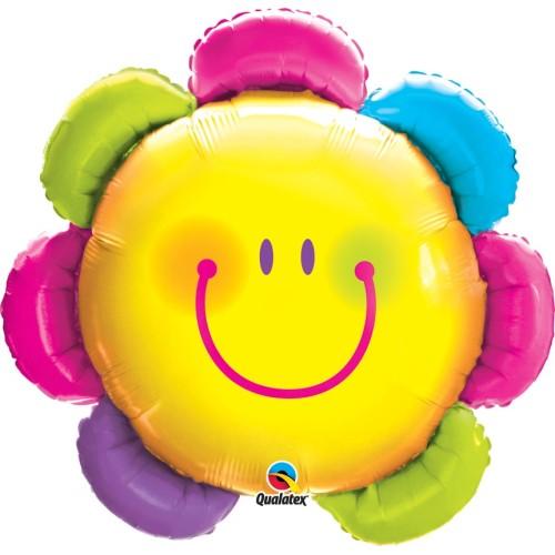 Funny Face Flower - folija balon