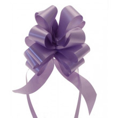 Svetlo viola mašne 3 cm