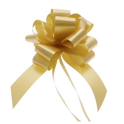Zlate mašne 3 cm