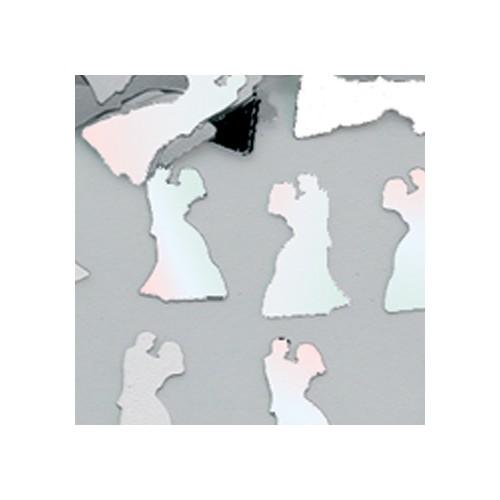 Konfetki - Bride & Groom Iridescent