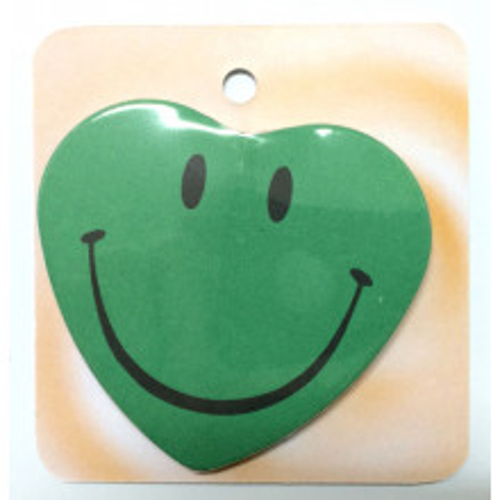Smiley - zelena značka