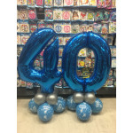Balloons for 40th birthday