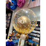 Balloons for 80th birthday