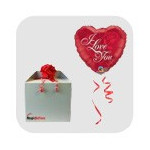 MagicBallons-Valentine's day- Helium balloon in a package