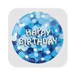 MagicBallons- Birthday Party- Blue sparkle party