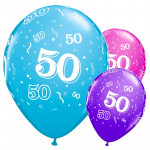 MagicBallons- Birthday Party 50 years